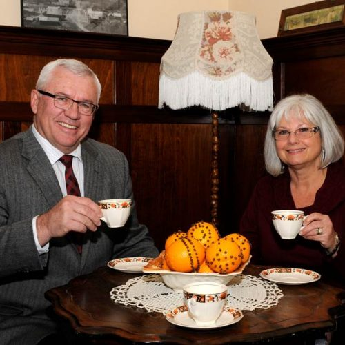 trethewey house mayor braun tea