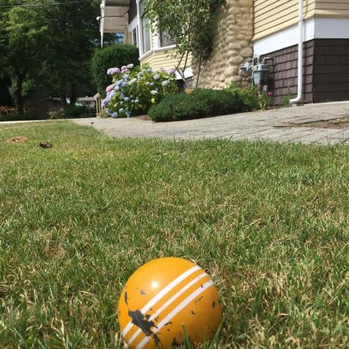 Croquet ball trethewey house