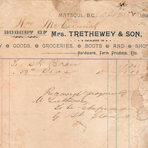Mrs. Trethewey & son